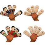 feelings finger puppets