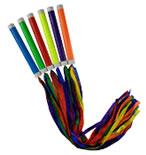 rainbow baton set