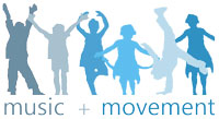 Music + Movement Logo